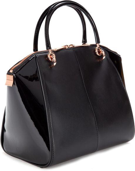 Ted Baker Black Leather Shoulder Bag 32