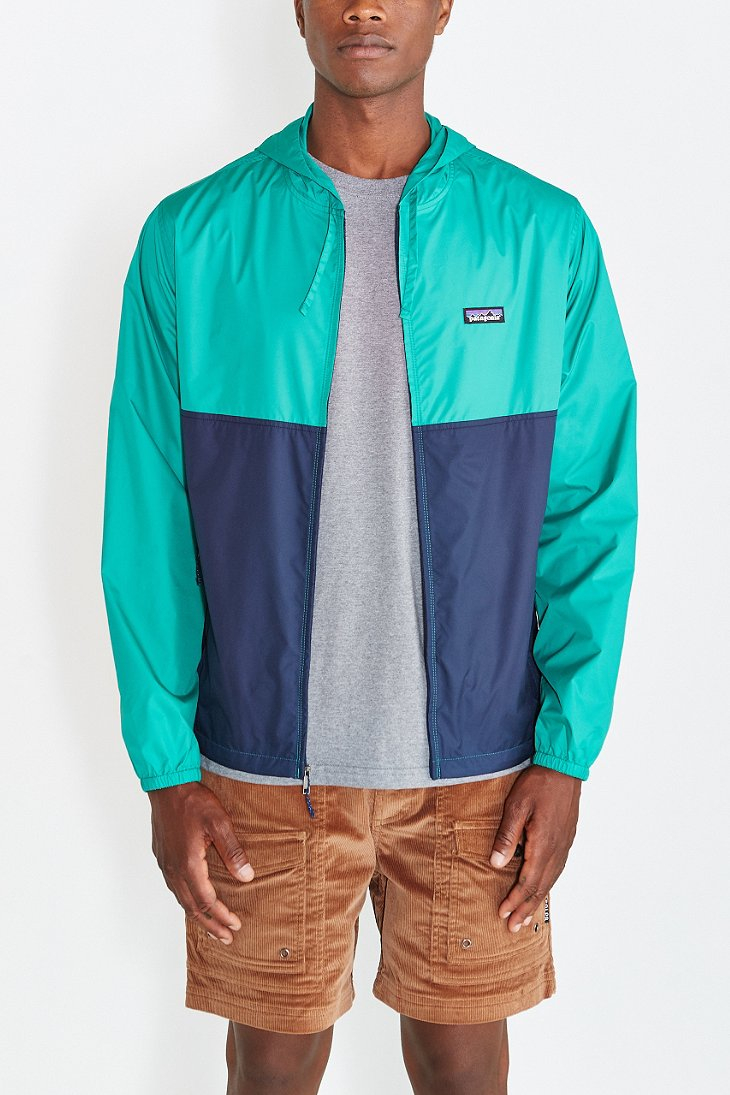 patagonia light and variable jacket in green for men navy lyst. Black Bedroom Furniture Sets. Home Design Ideas