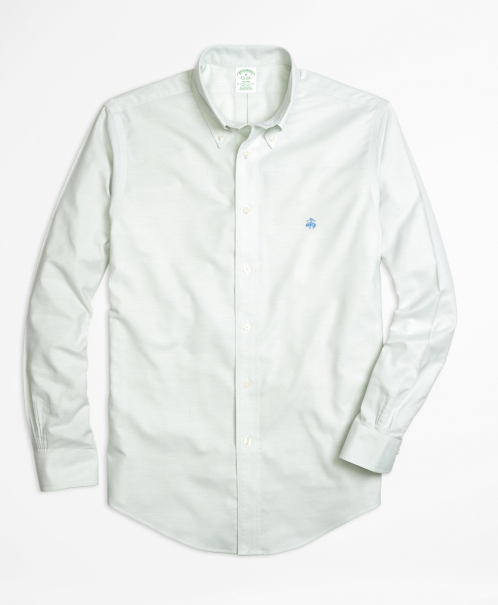 Brooks brothers non iron milano fit oxford sport shirt in for Brooks brothers non iron shirts review