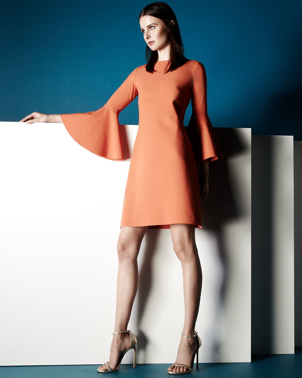 Chiara Boni The Most Popular Dress In America: La Petite Robe Di Chiara Boni Natalia Bell-sleeve A-line