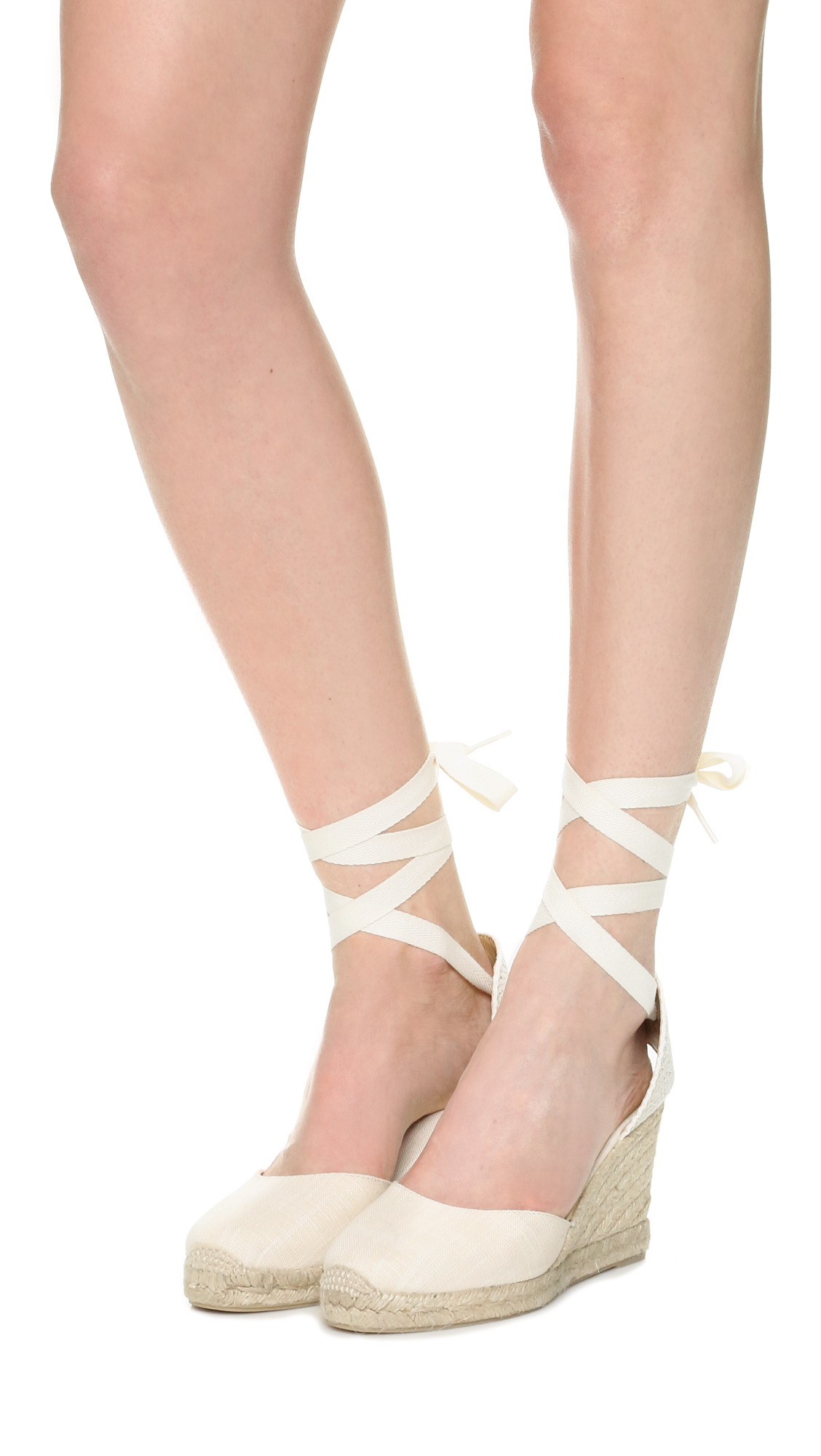 8a98af7b96ae9 Lyst - Soludos Tall Wedge Espadrilles in Natural