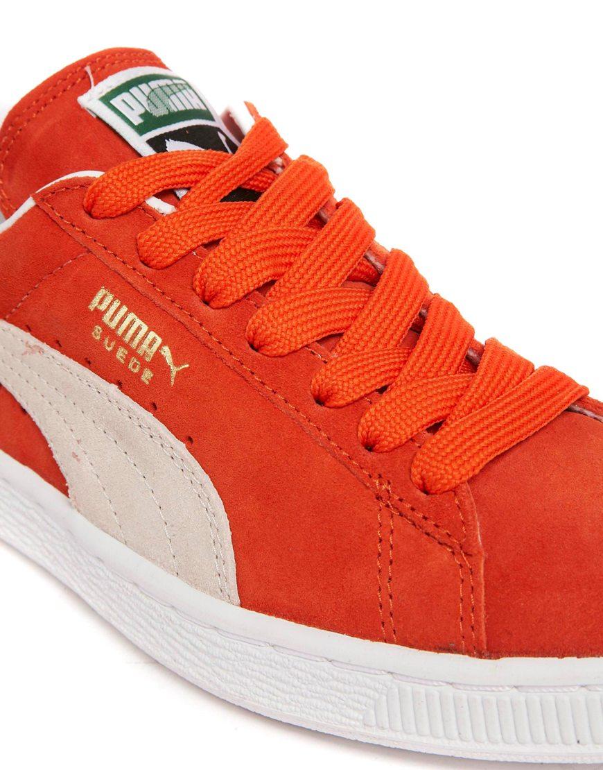 Formateurs Suède En Orange - Orange, Pumas
