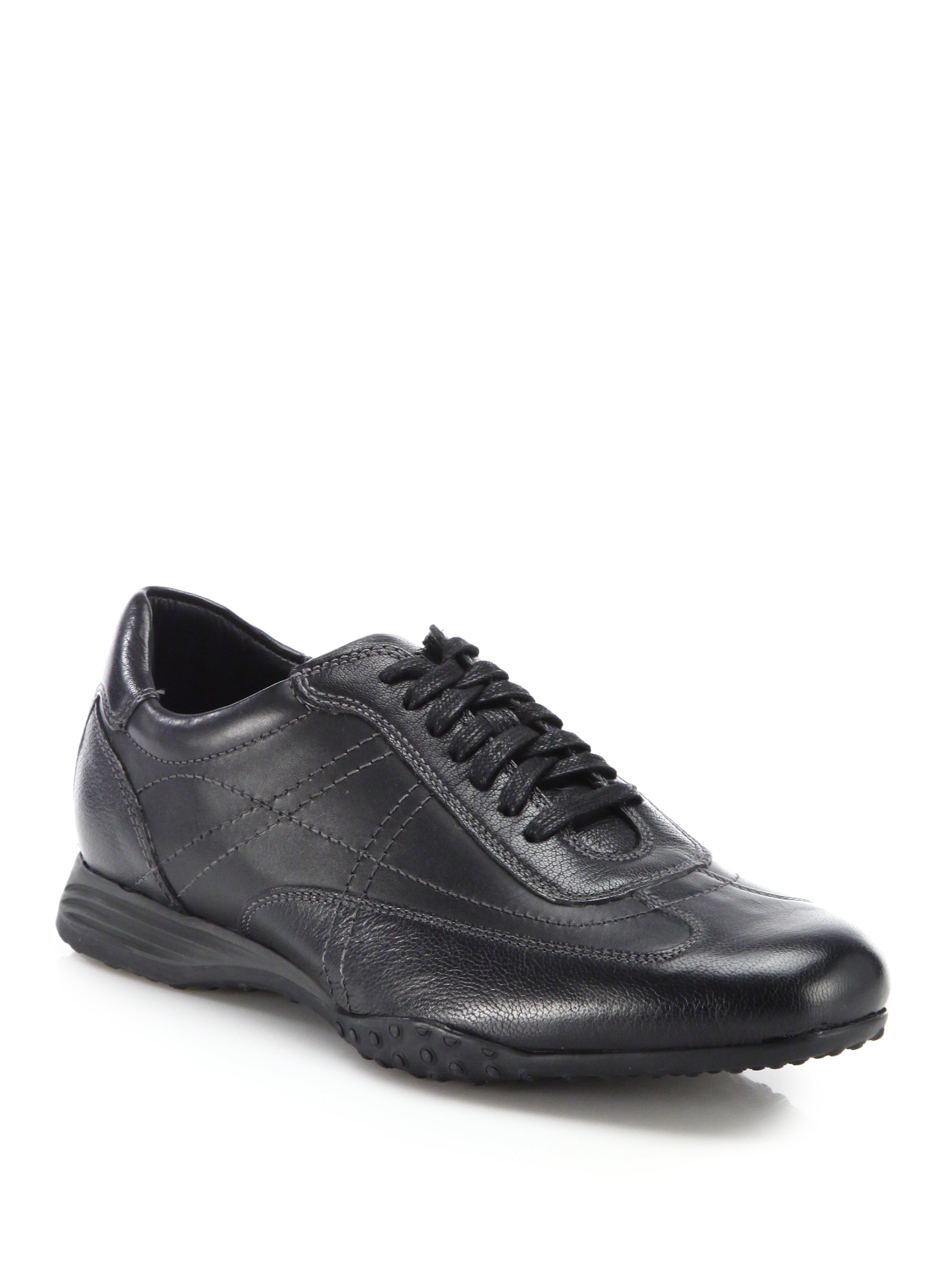 Cole Haan Granada Leather Sneakers In Black For Men Lyst