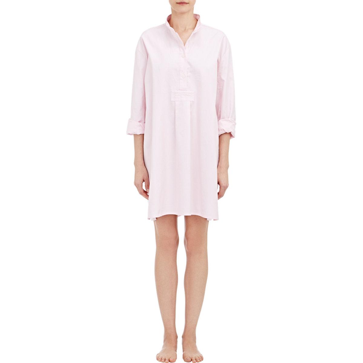 Lyst The Sleep Shirt Oversized Sleep Shirt In Pink