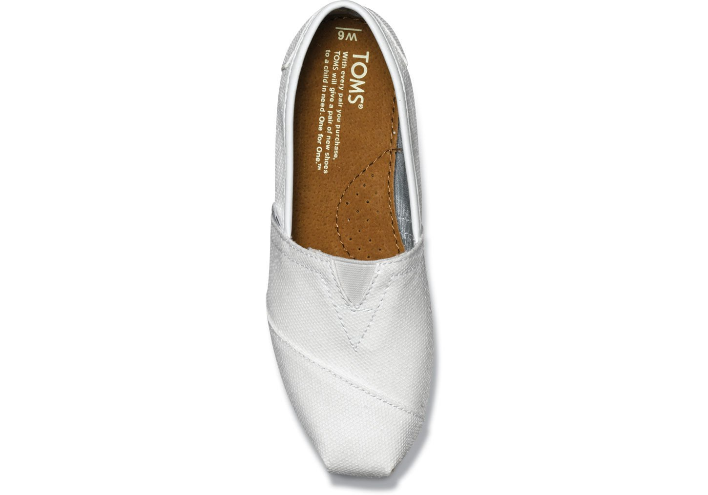 toms womens glitters white 1 toms wedding shoes Gallery Women s Wedding Shoes