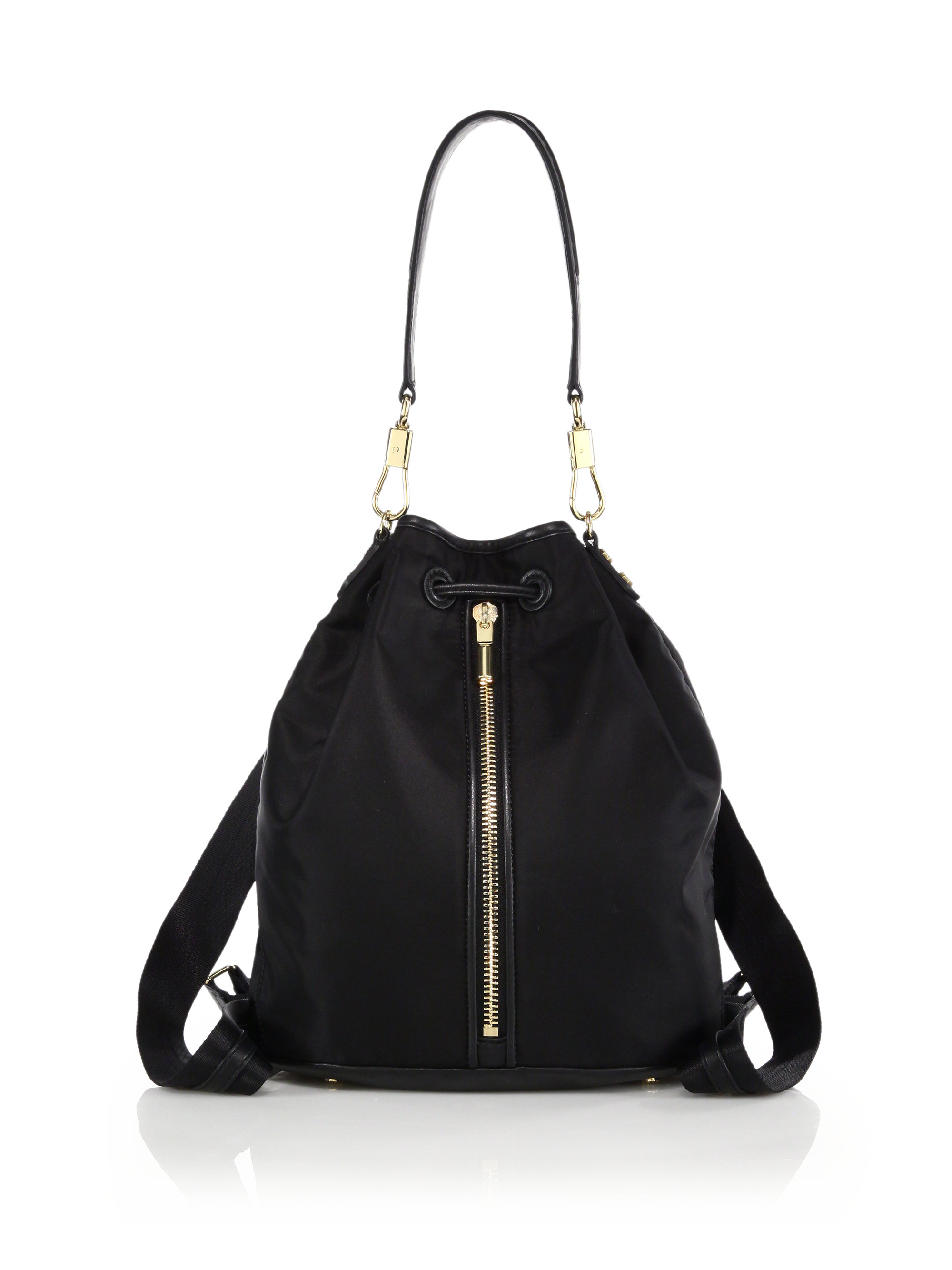 Elizabeth and james Cynnie Sling Nylon & Leather Convertible ...