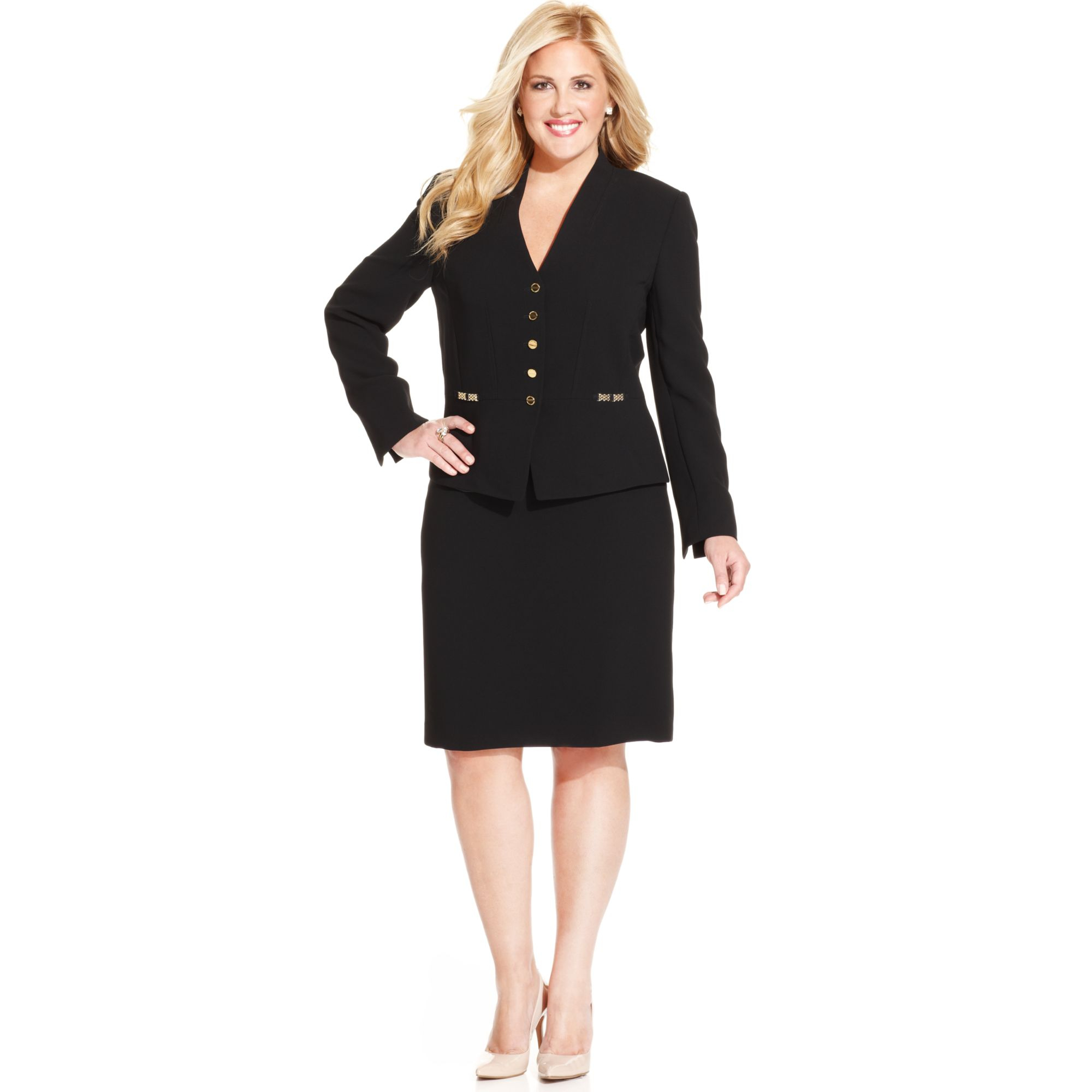 Shop the latest collection of plus size Skirt Suit suits at Macys. Find a wide selection of chic plus size business or casual suits for all occasions including top brands.