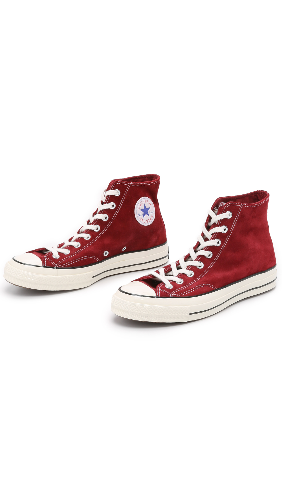 98273557b11 Lyst - Converse Chuck Taylor All Star  70s Suede High Top Sneakers ...