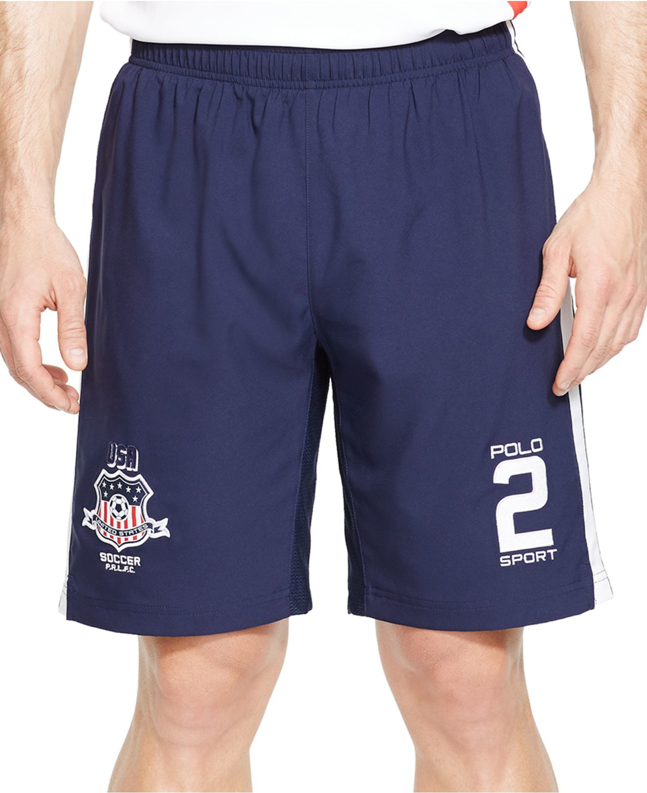 polo ralph lauren polo sport usa soccer compression shorts. Black Bedroom Furniture Sets. Home Design Ideas