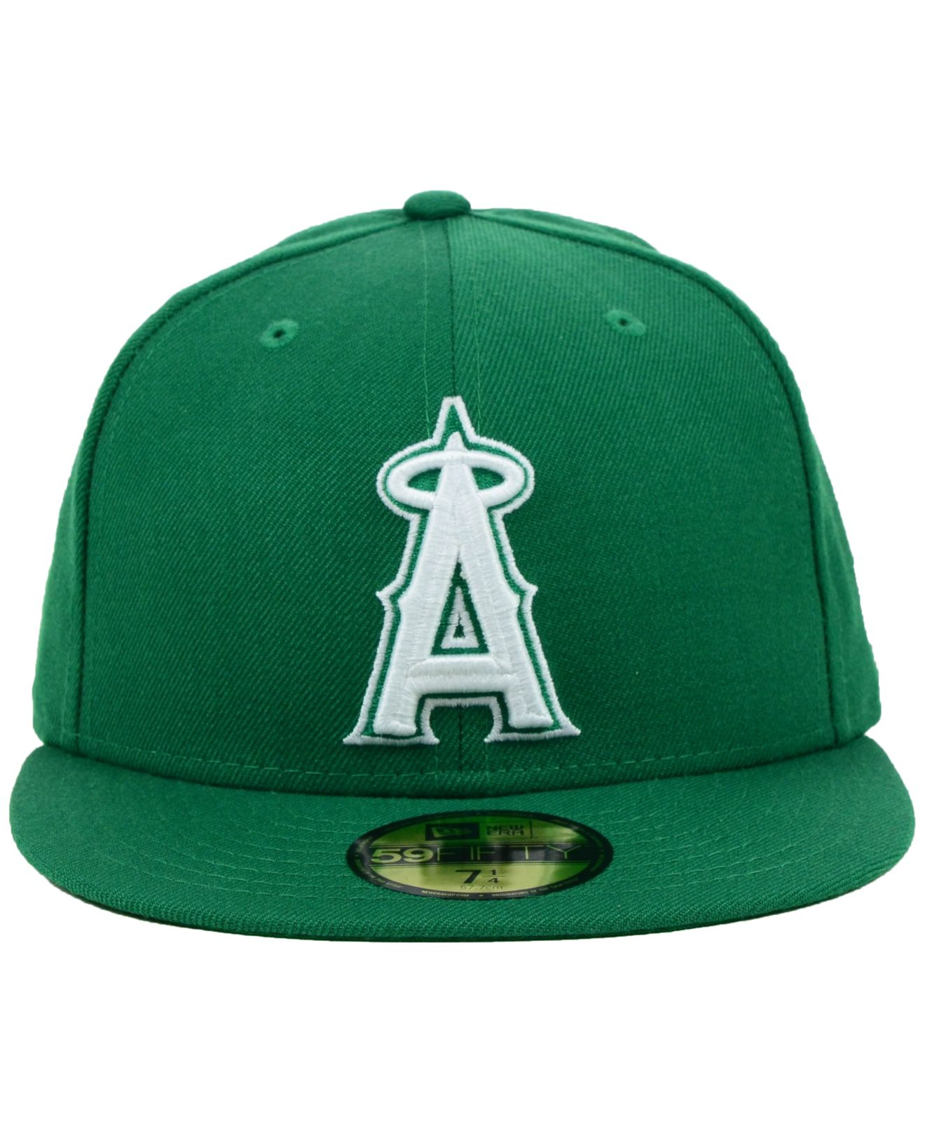 buy online 03a9a 39ea1 shop lyst ktz los angeles angels of anaheim mlb c dub 59fifty cap in 16181  c522e