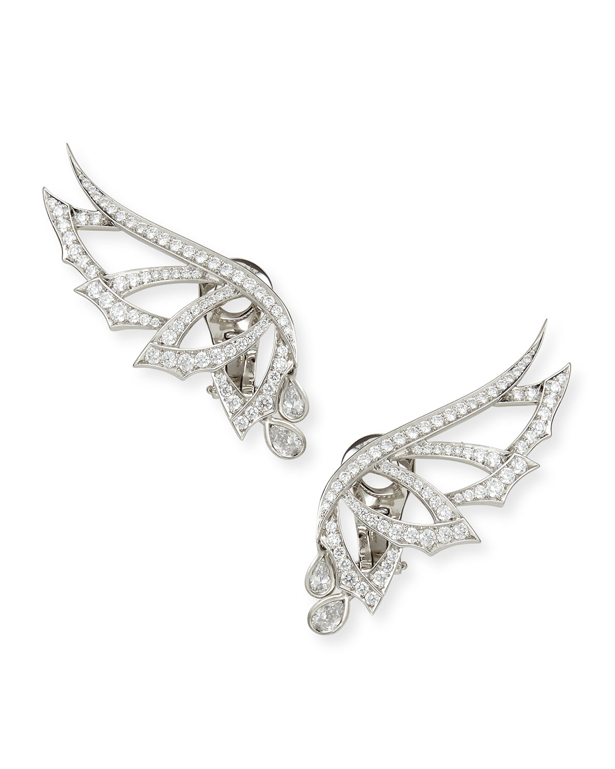 Stephen Webster Magnipheasant Pave Diamond Wing Earrings 2qEYXnsuu