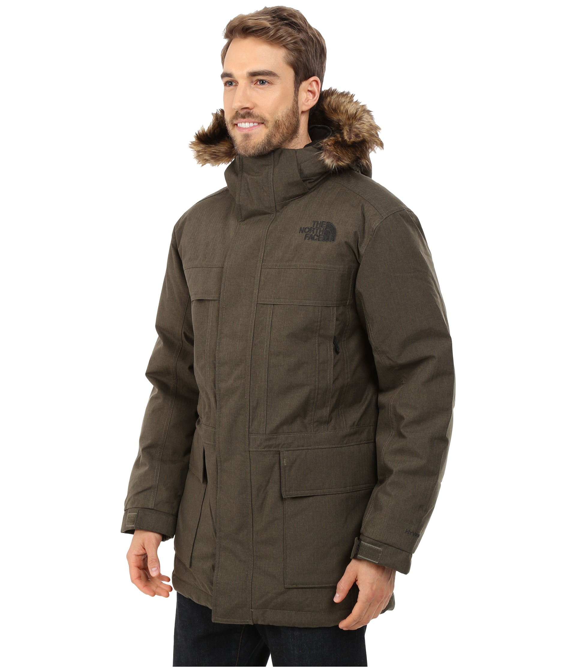 the north face mcmurdo parka ii in brown for men lyst. Black Bedroom Furniture Sets. Home Design Ideas