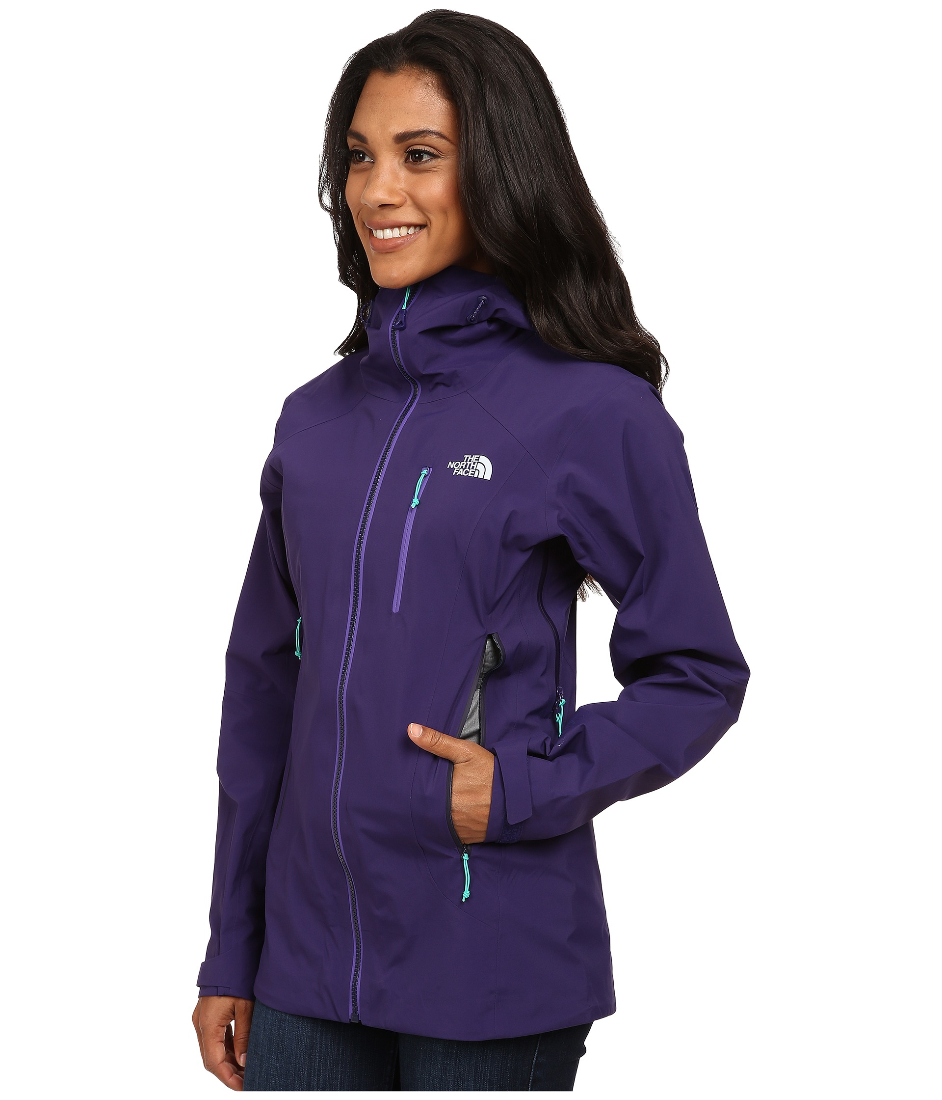 8fd696339584 Lyst North Zero Gully Purple in Face The Jacket fqr7xwfC