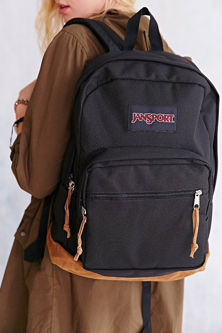 Lyst - Jansport Right Pack Backpack in Black b6ba83bab