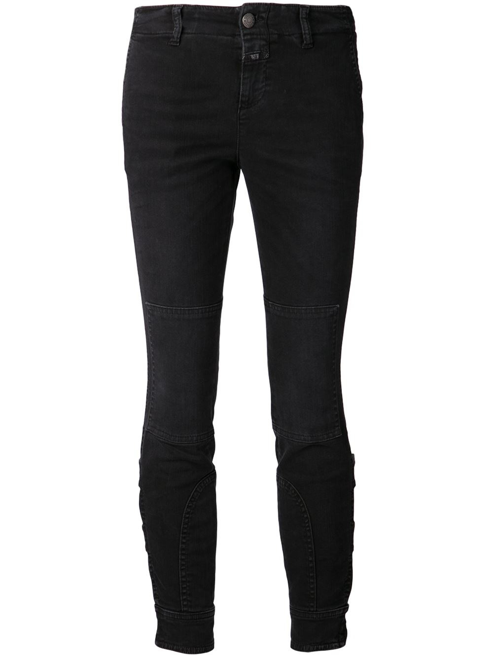 Lyst Closed Mary Jeans In Black
