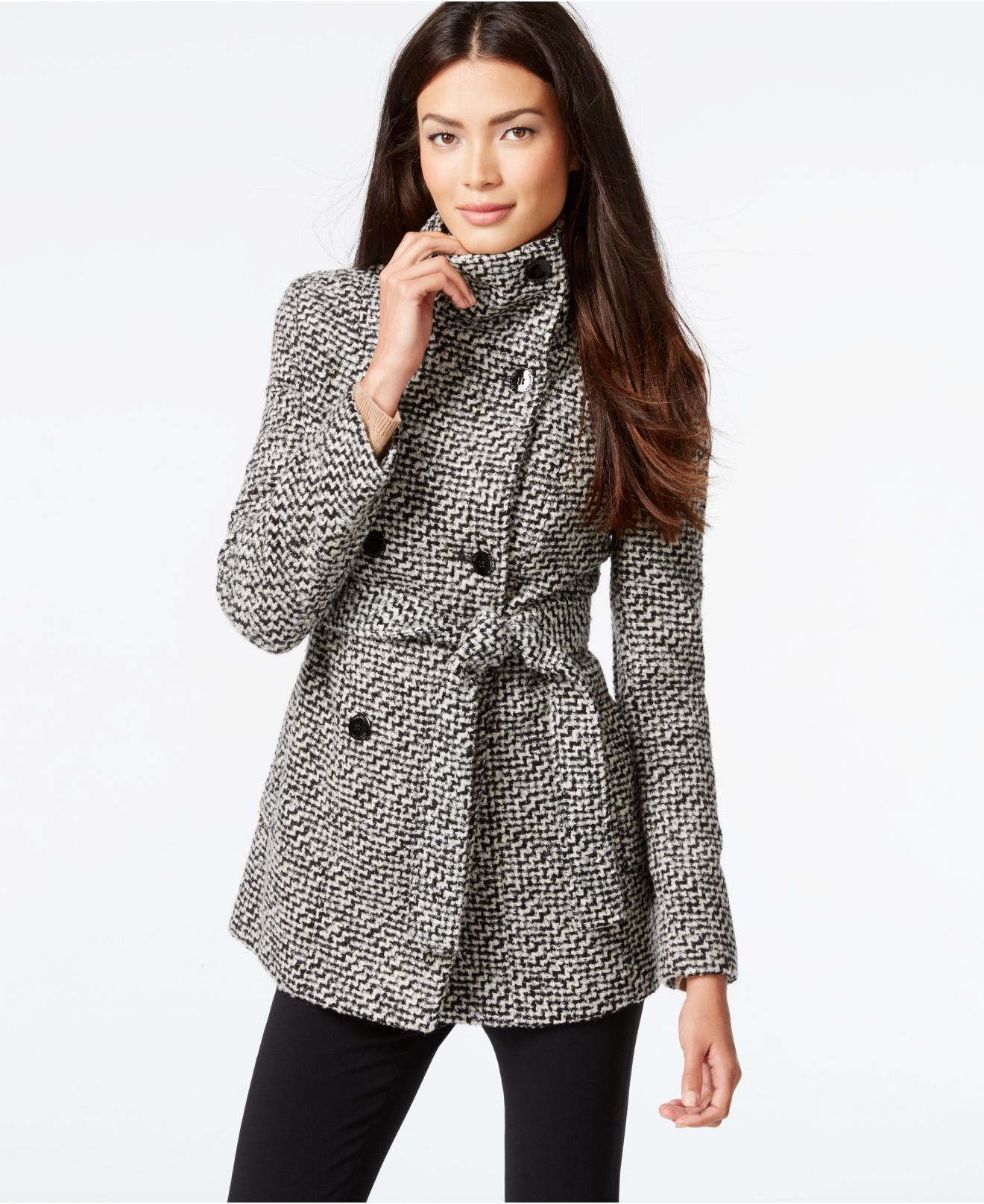 largest selection of to buy selected material Calvin Klein Pea Coat Women - Tradingbasis