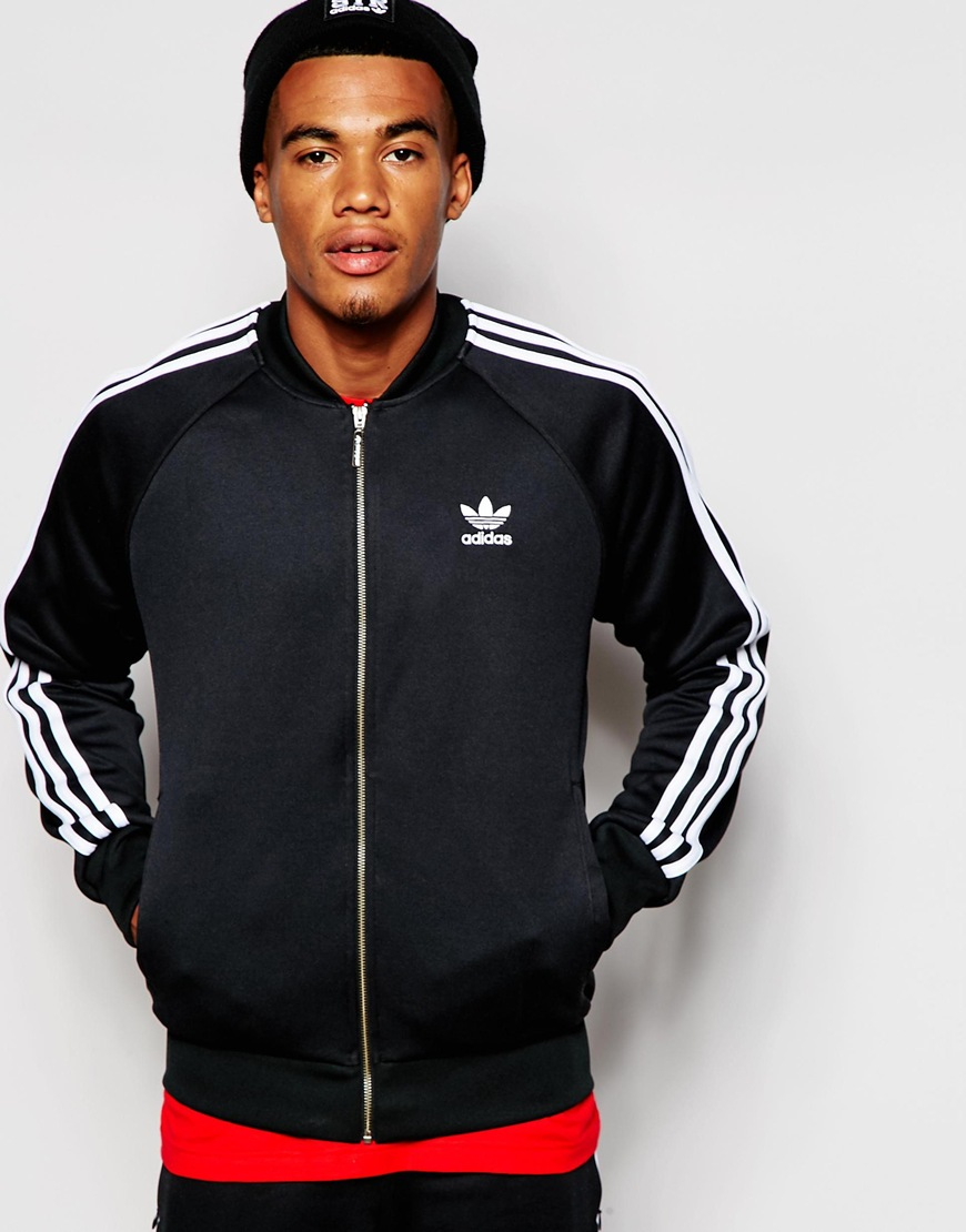 c93226e51c67dd Lyst - adidas Originals Superstar Track Jacket Ab9717 in Black for Men