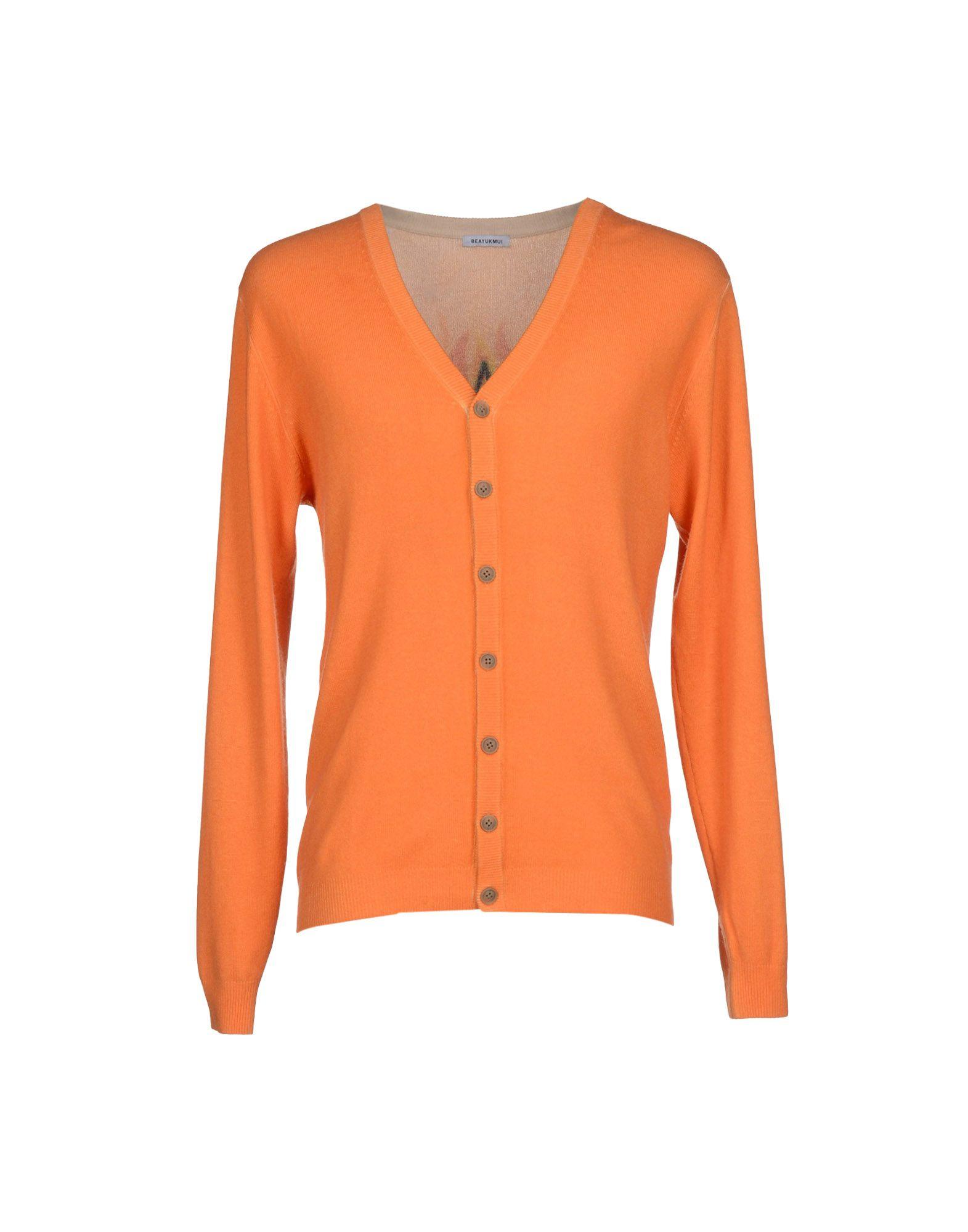 Beayukmui Cardigan in Orange for Men | Lyst