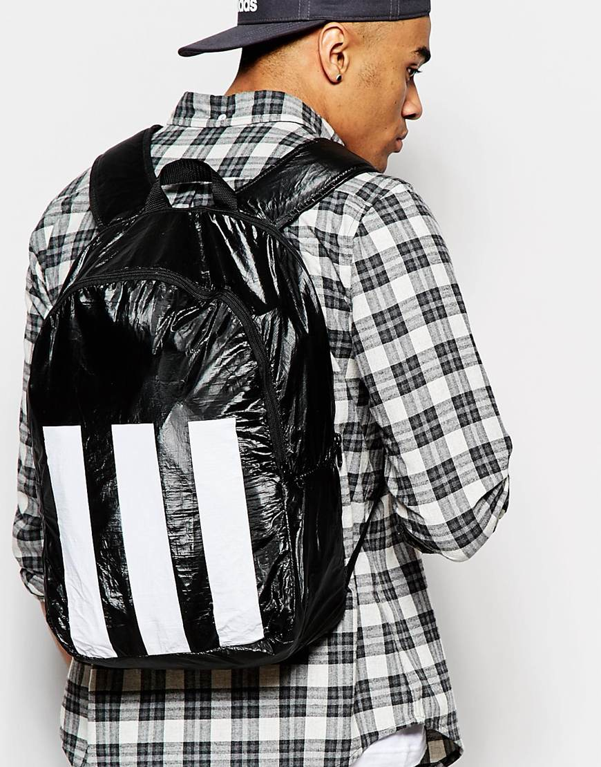 Lyst - adidas Originals Berlin Backpack in Black for Men 7a64df5a8f8aa