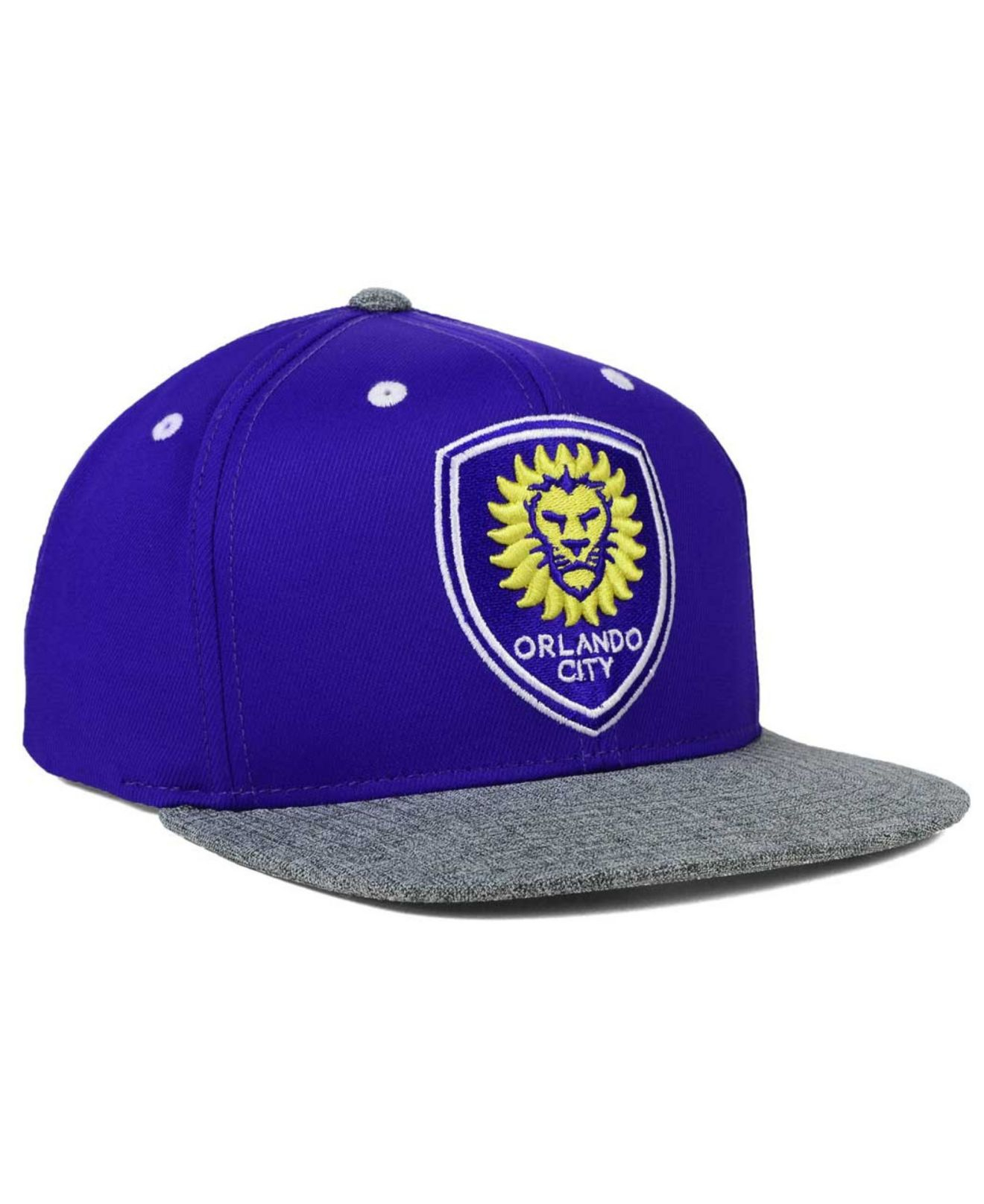 Gorra Lyst Orlando Adidas Lyst Orlando City para Sc Snapback en color morado para hombre 0a3983e - antibiotikaamning.website