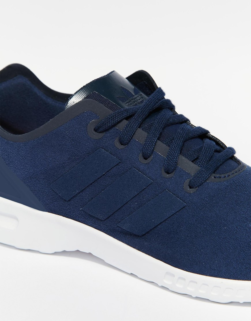 adidas navy trainers
