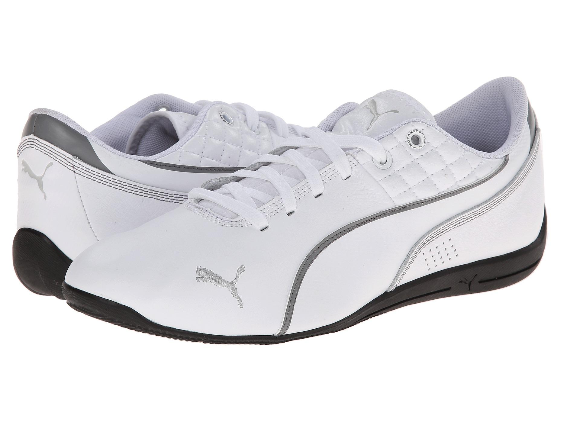 91bb95019b9839 Lyst - PUMA Drift Cat 6 Tech in White for Men