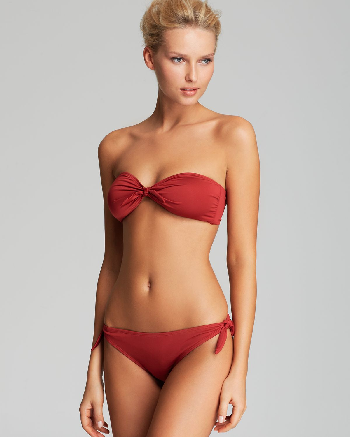 Take our bandeau bikini top– this romantic style is sweet and feminine; a total breath-taker for any free spirit. Or maybe you're looking to break loose with an of-the-moment trend. Or maybe you're looking to break loose with an of-the-moment trend.