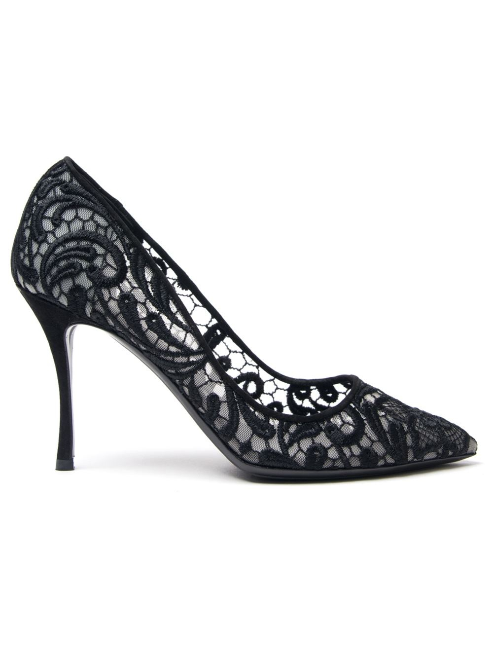 Nicholas Kirkwood Lace Pointed-Toe Pumps buy cheap purchase free shipping pay with visa cheap sale 100% authentic LQf4m7DT4