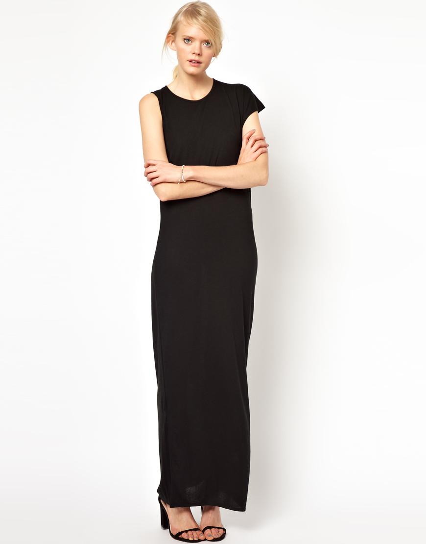Denham colour blocked maxi dress