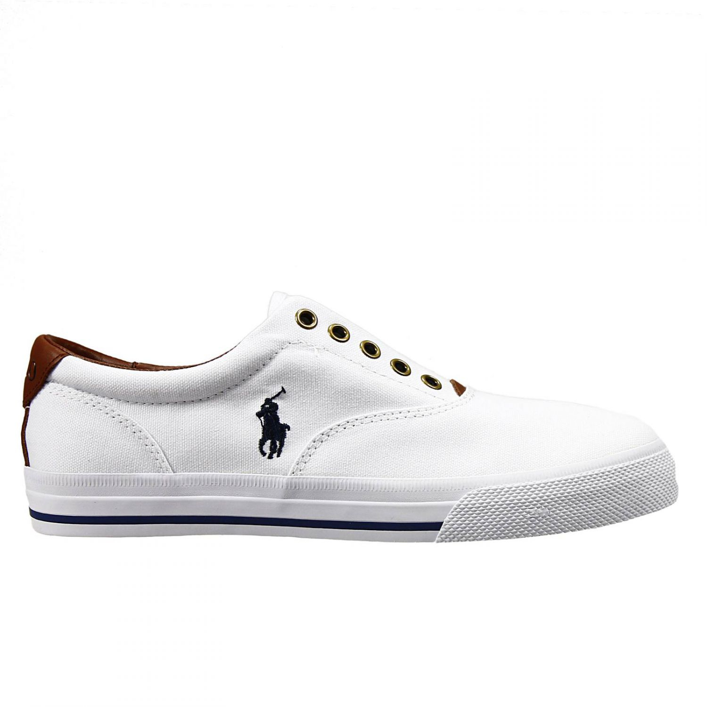 ralph shoes vito ne sneakers senza laces canvas