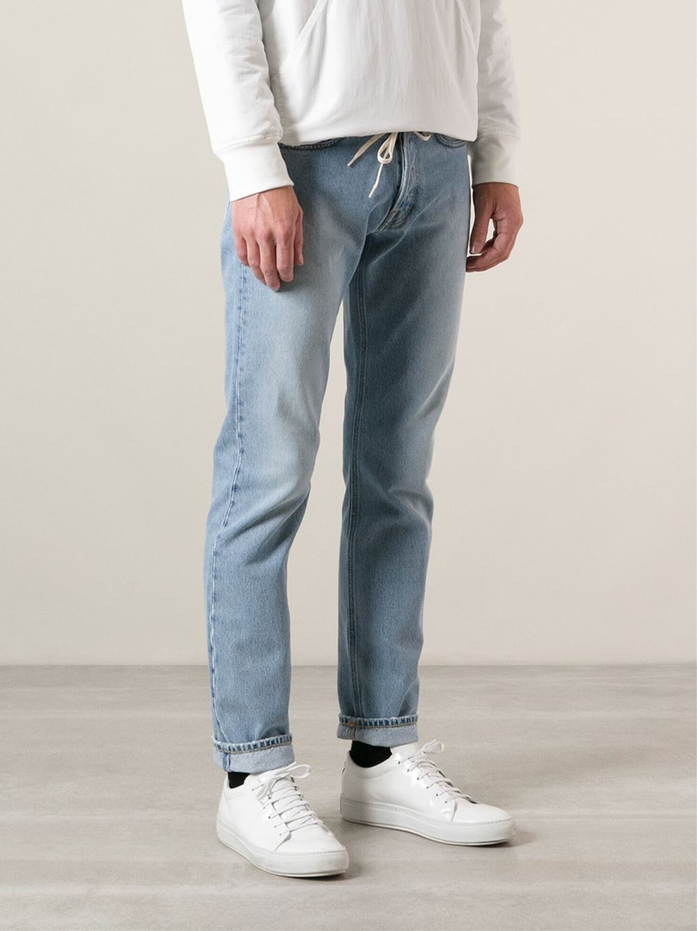 Lyst Our Legacy First Cut Slim Fit Jeans In Blue For Men