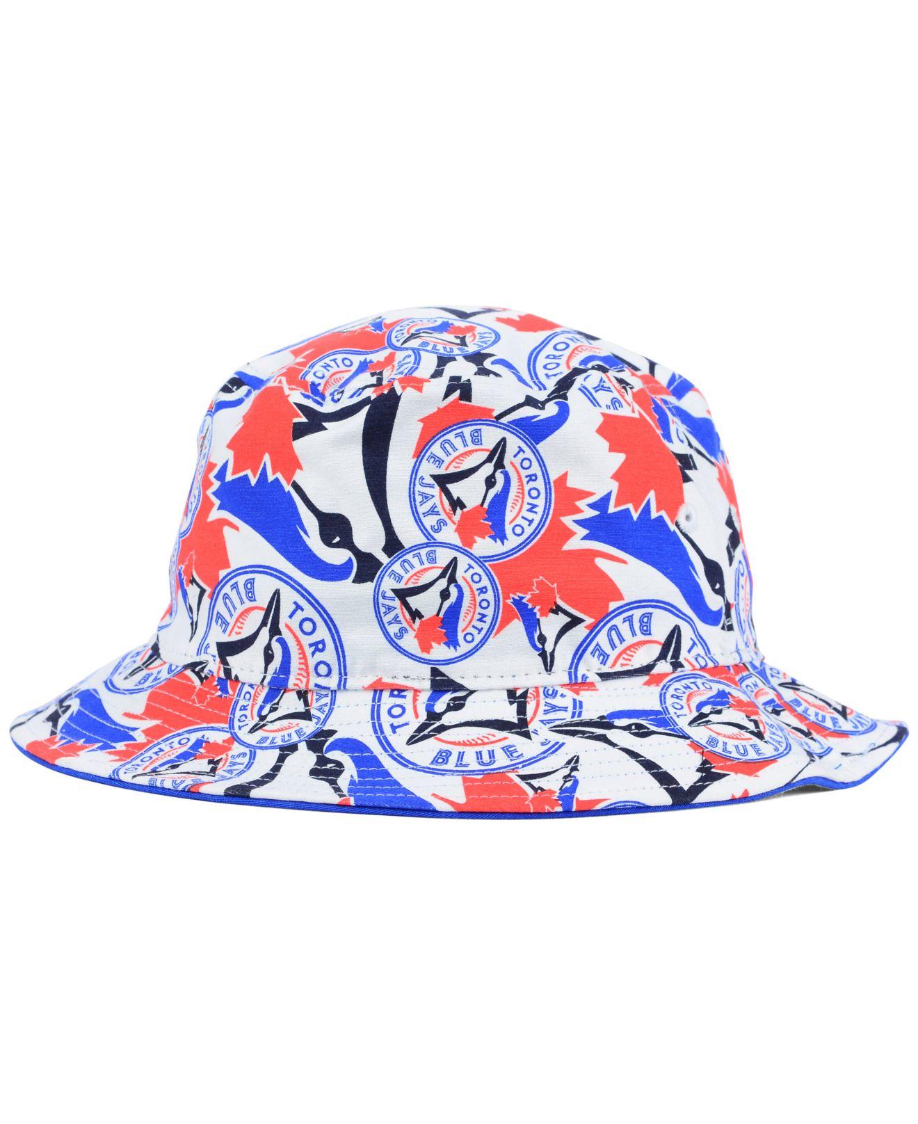 0f2c7a025 ... huge discount f64d7 4771d Lyst - 47 Brand Toronto Blue Jays Bravado  Bucket Hat in Whit ...