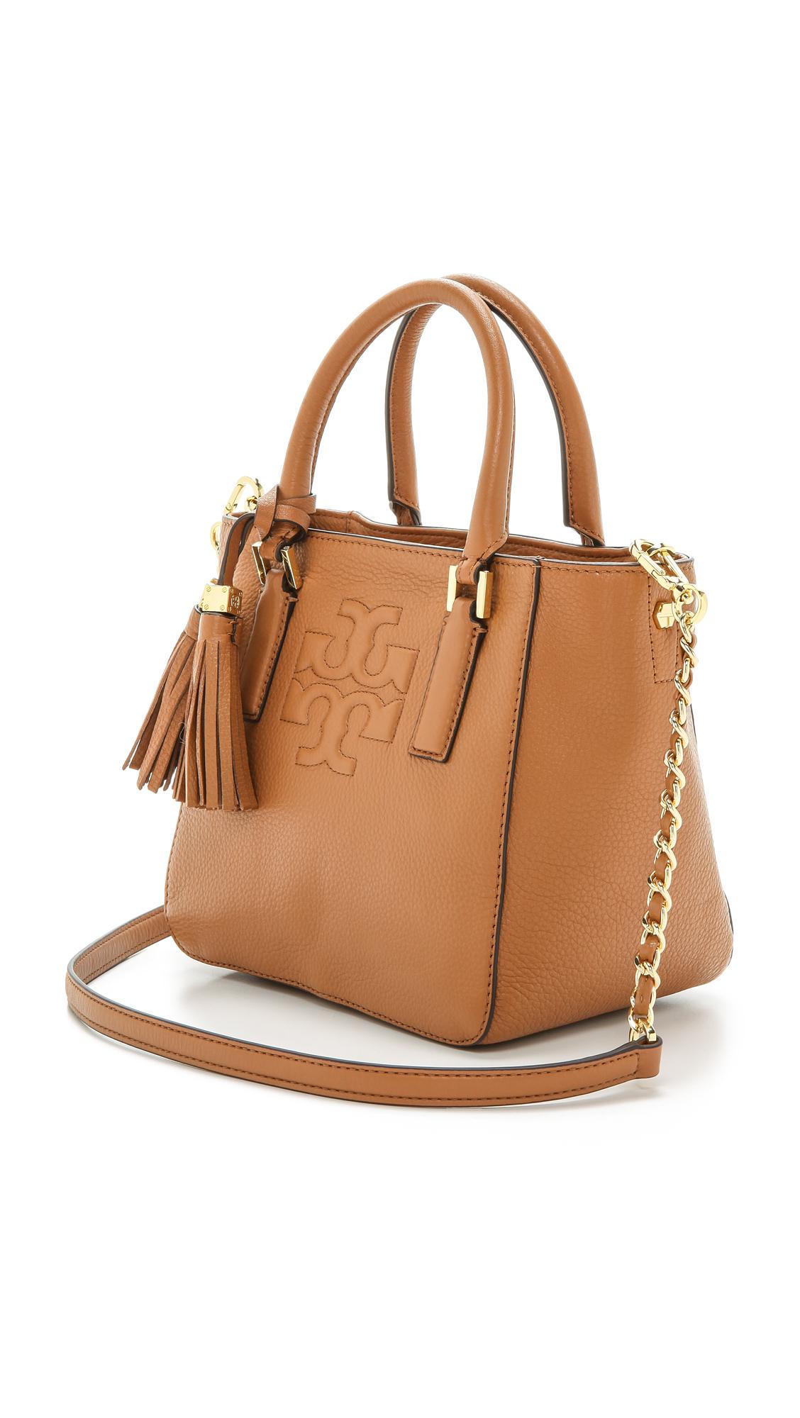 b04bc8cbab3 Tory Burch Thea Mini Bucket Bag - Bark in Brown - Lyst