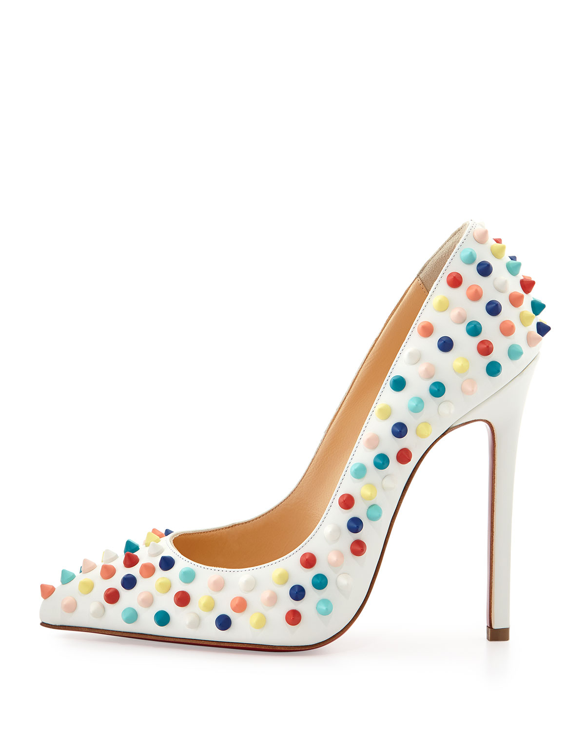 christian louboutin pigalle 120 crystal embellished suede pumps ...
