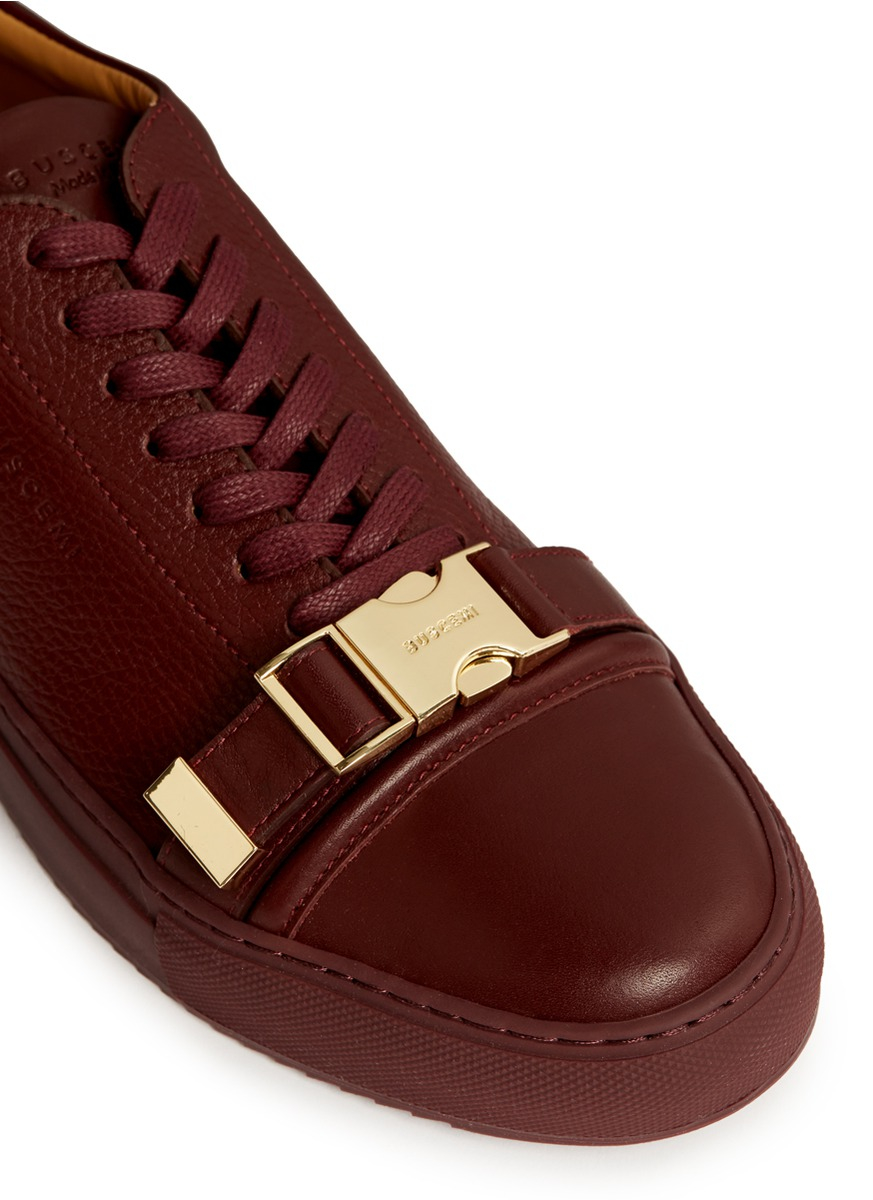 White Buscemi Shoes