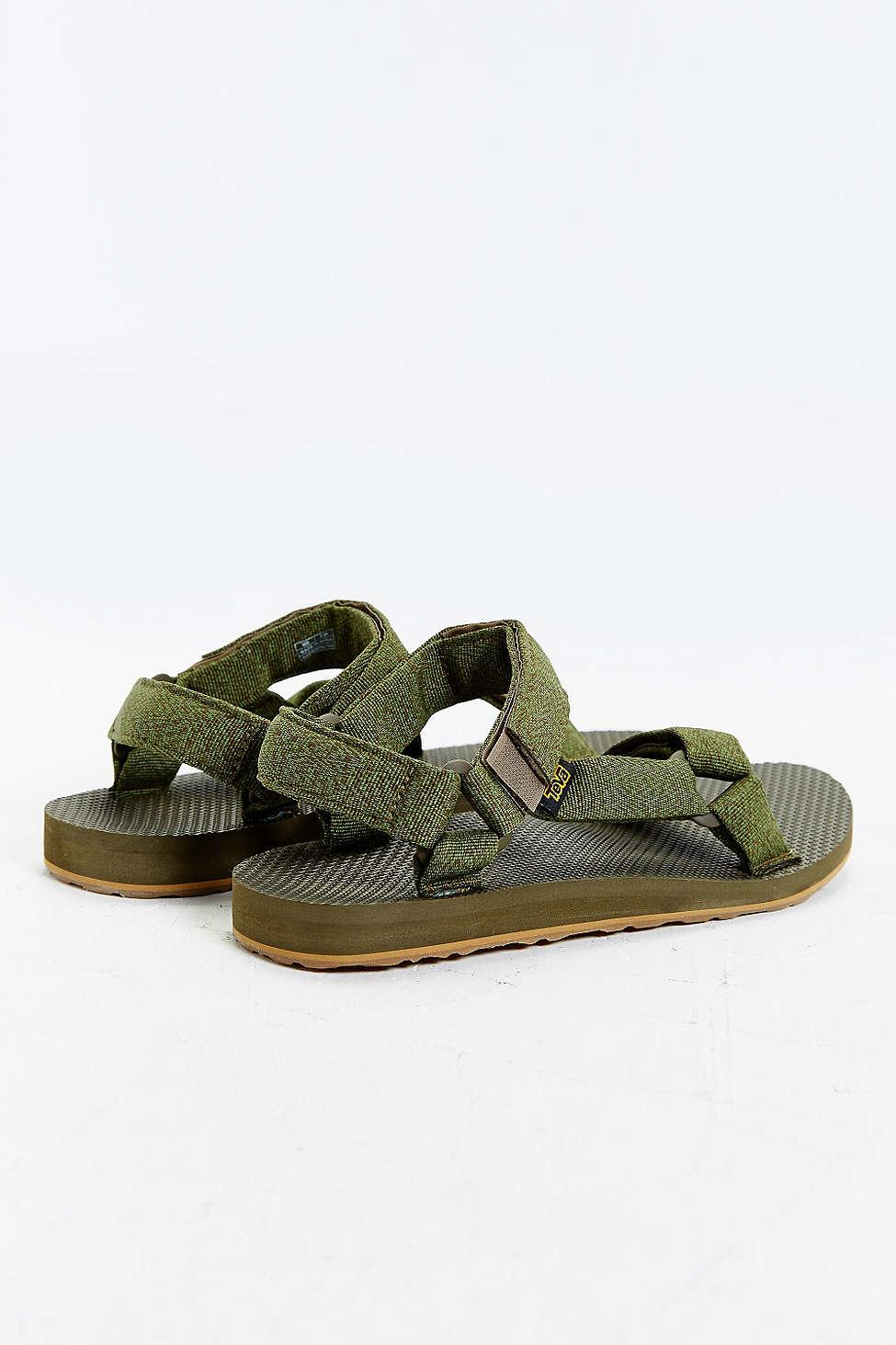 0e4a1a820e2c26 Lyst - Teva Original Universal Urban Men s Sandals in Green for Men