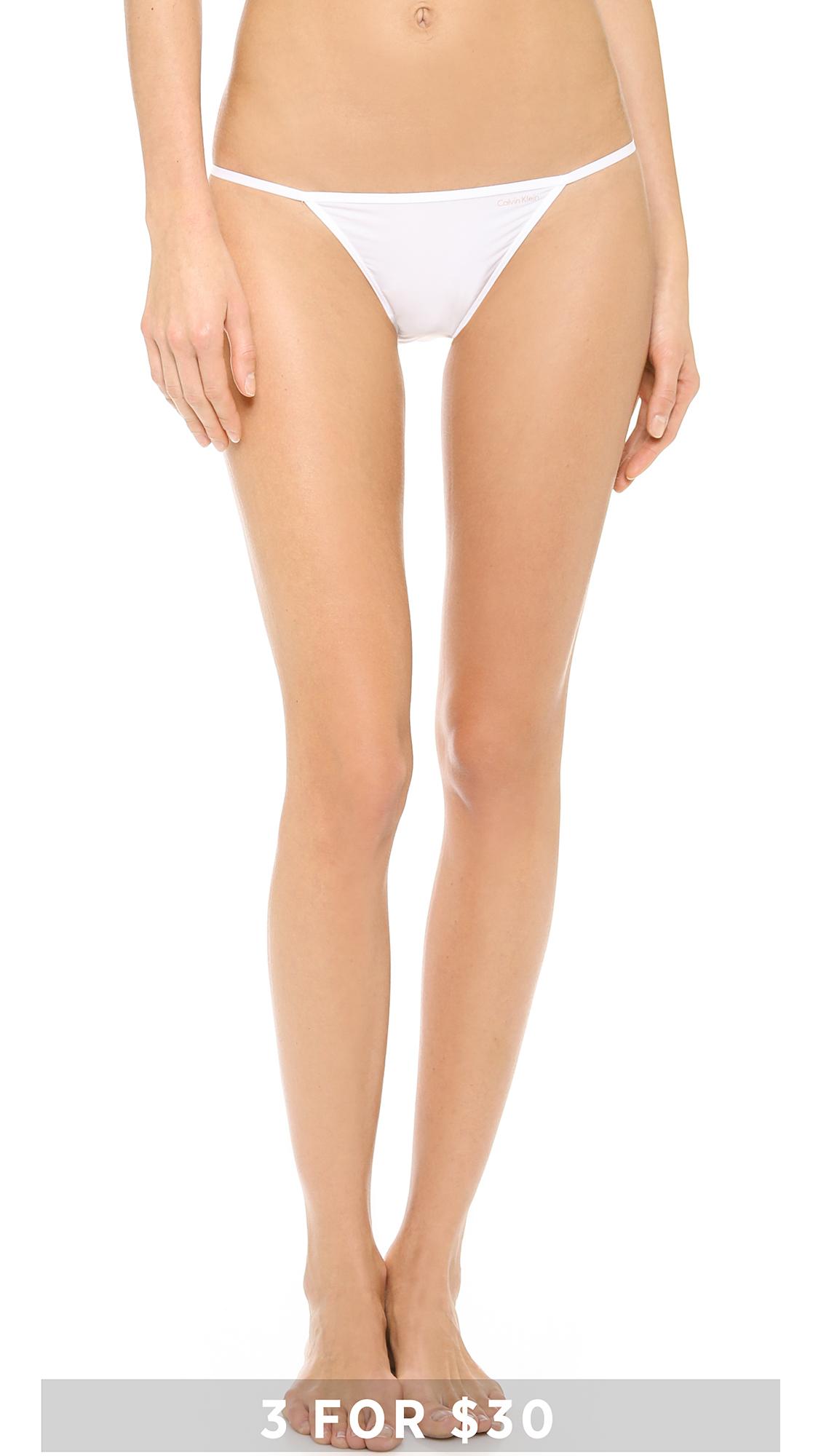 Calvin klein string bikini underwear