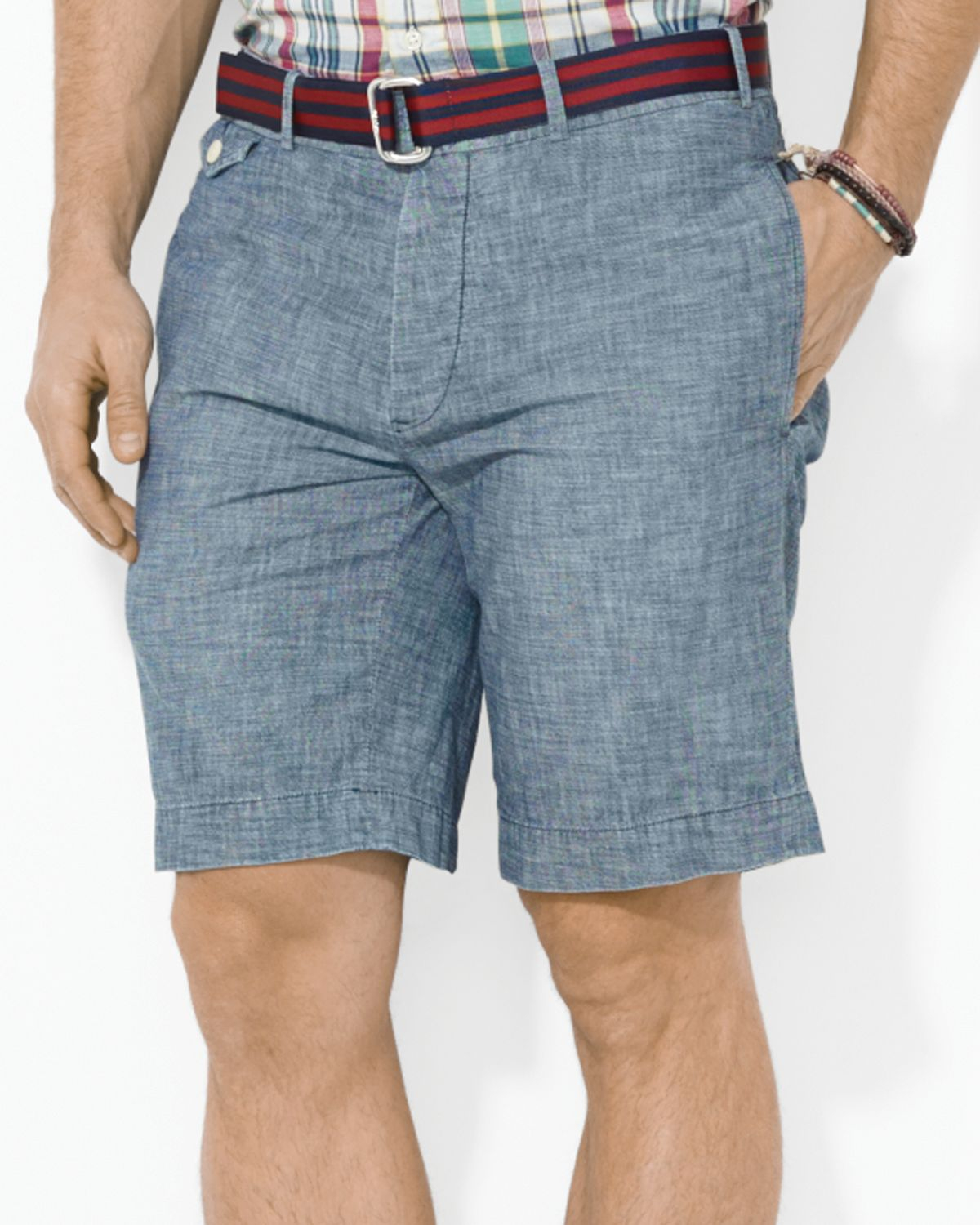 Lyst Ralph Lauren Polo Kingsley Chambray Shorts