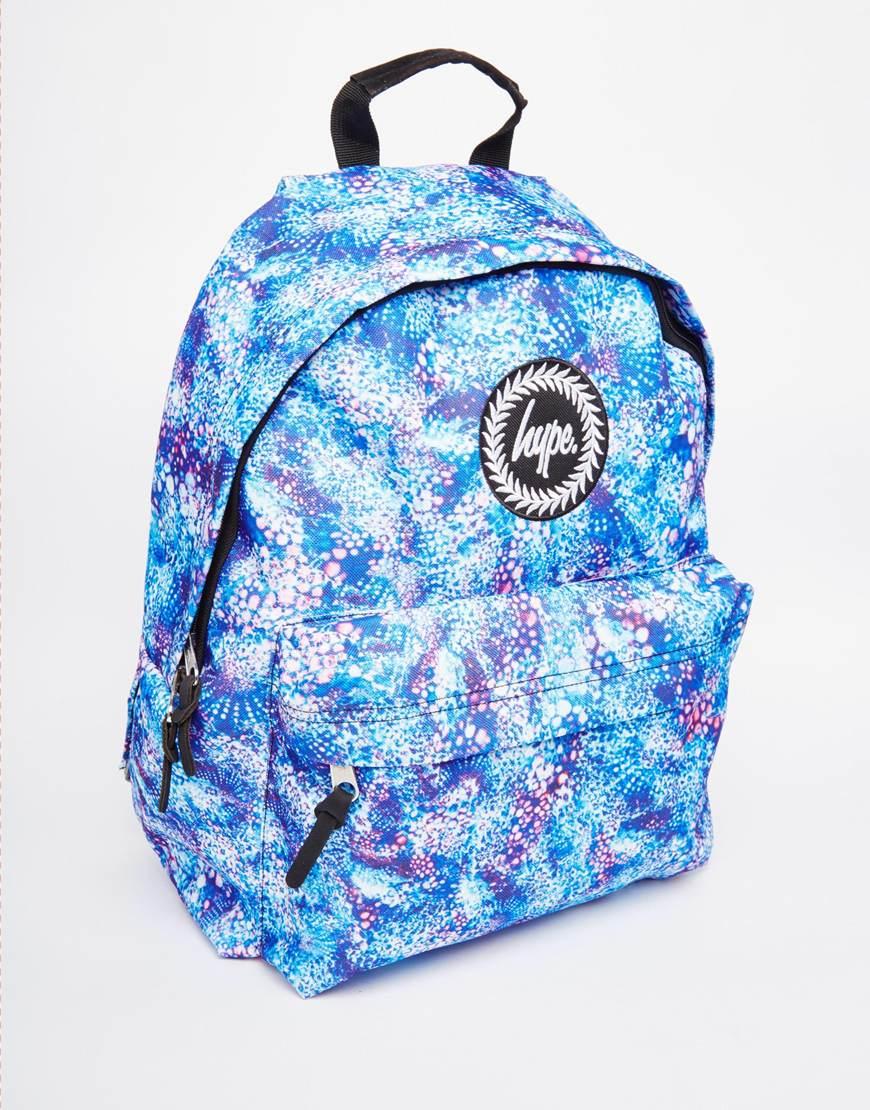 Hype Bubblegum Backpack In Blue For Men Lyst
