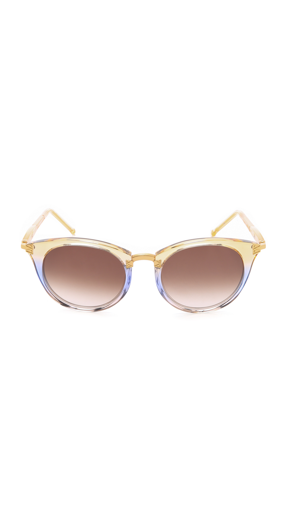 6a33ef3c35b Lyst - Wildfox Sunset Sunglasses - Daybreak brown in Brown