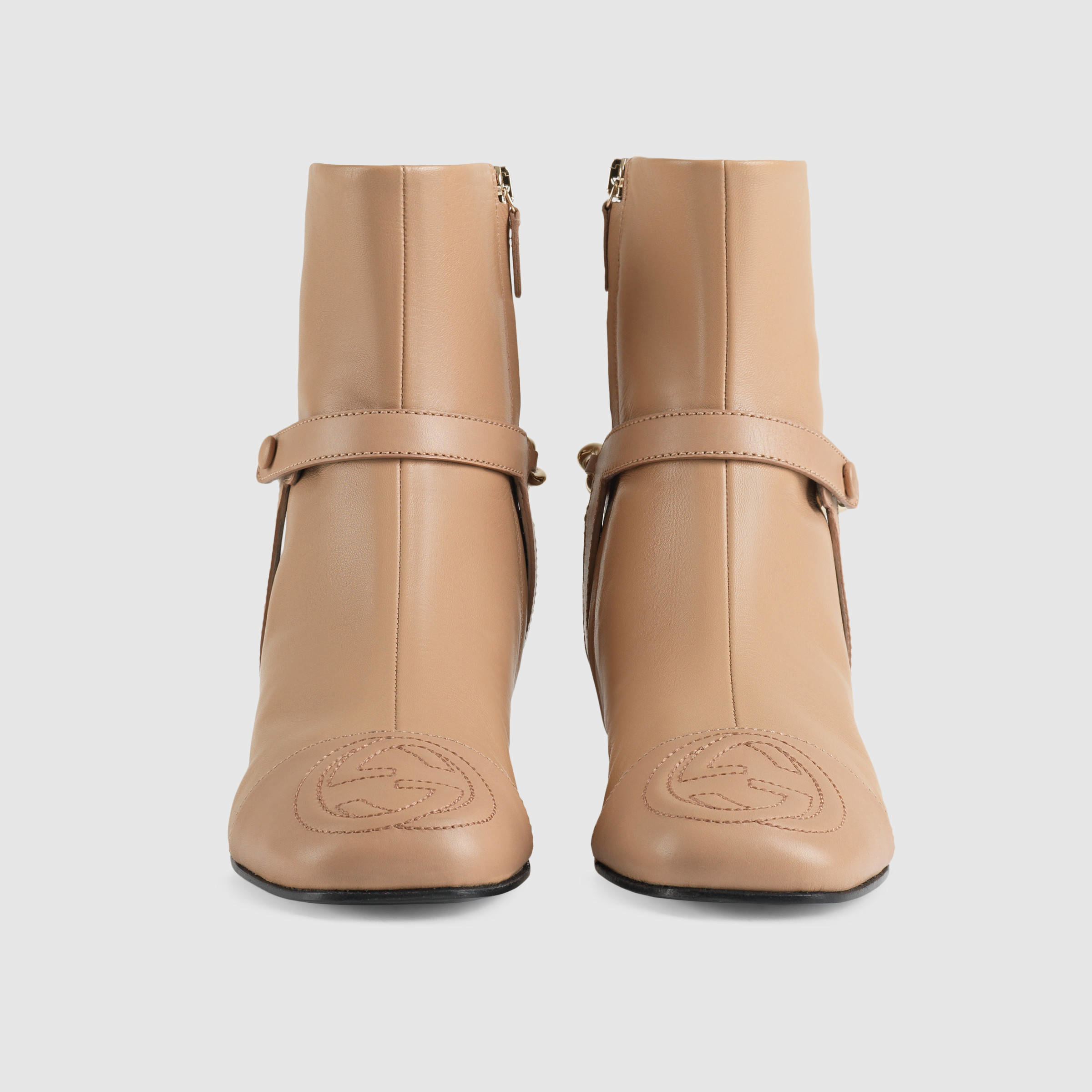 bc2ed69a821e Gucci Soho Leather Ankle Boot - Lyst