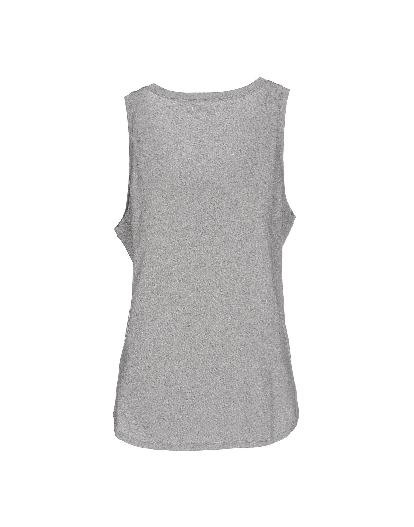 Three Dots T Shirt In Gray Grey Lyst