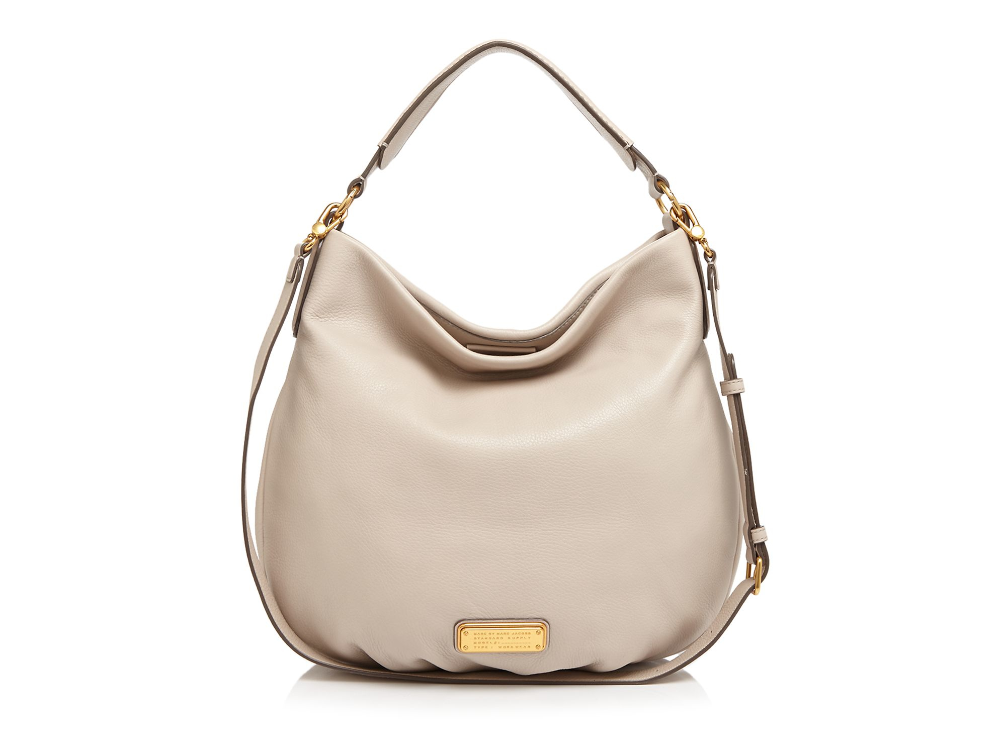 d2173ea20575 Lyst - Marc By Marc Jacobs Hobo - New Q Hillier in Natural