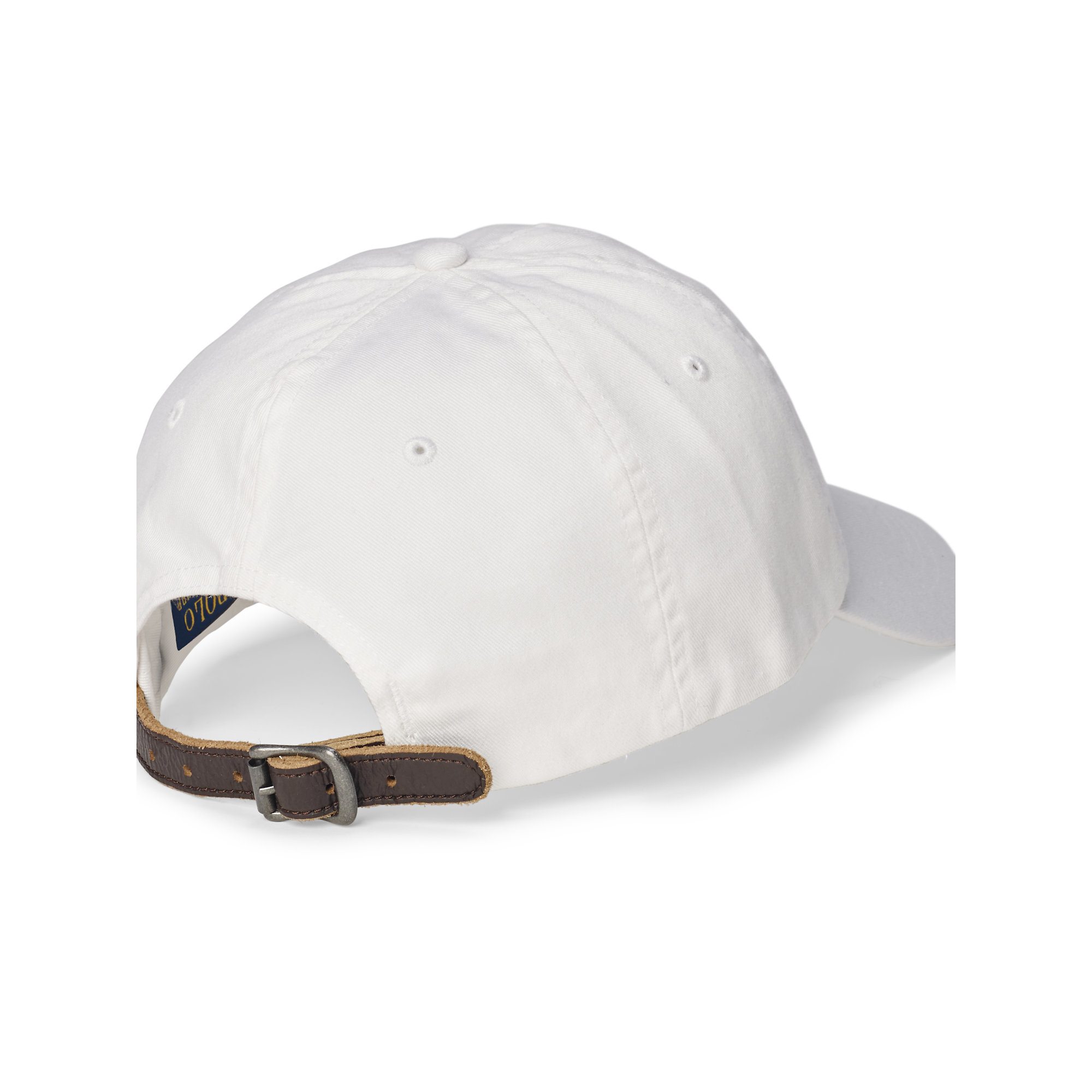b4aaf2c1 ... usa lyst polo ralph lauren embroidered chino baseball cap in white for  men 851ef 28e41