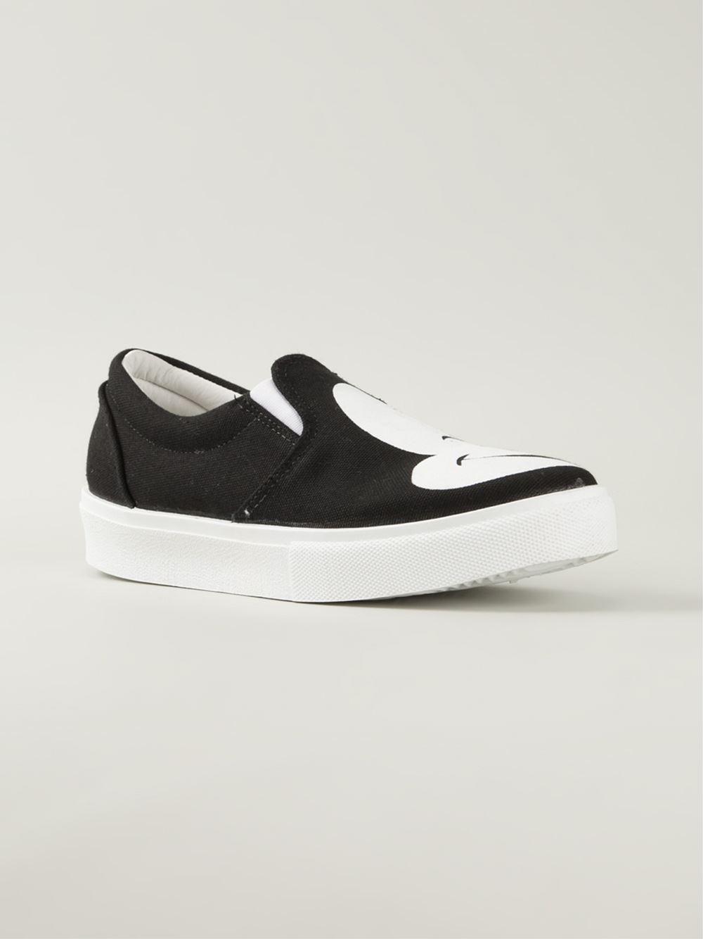 Chiara ferragni Mickey Mouse Print Slip-On Sneakers in ...