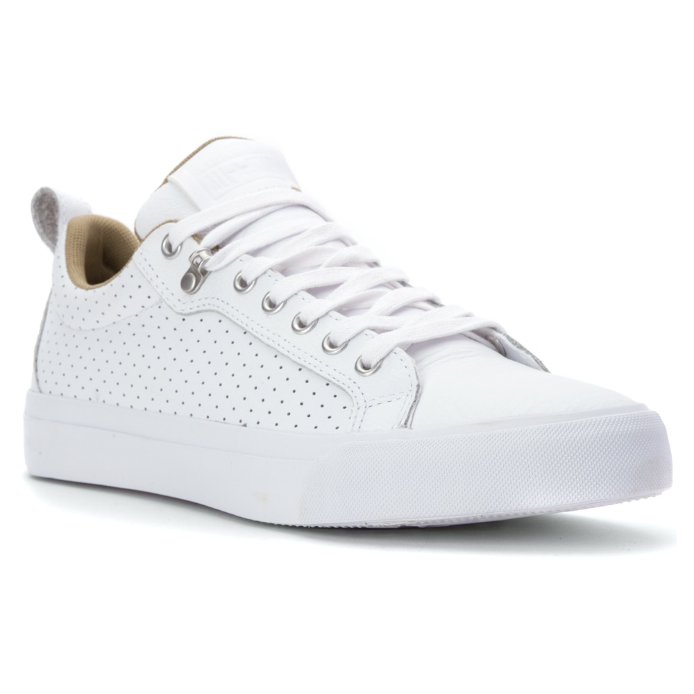 dbe69852e15 ... france lyst converse all star fulton leather low top sneaker in white  for men ceea6 5a81e