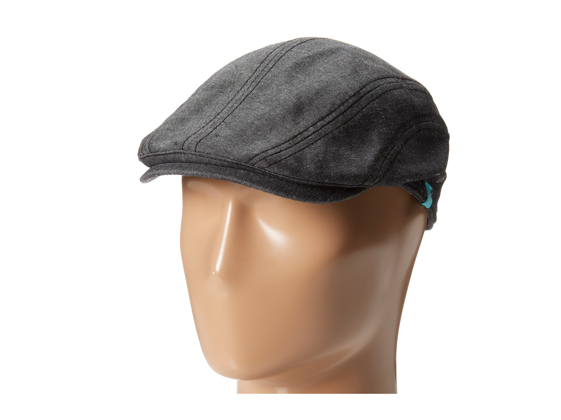 70c33d2fa20 Lyst - Original Penguin Kennedy Solid Driving Cap in Black for Men