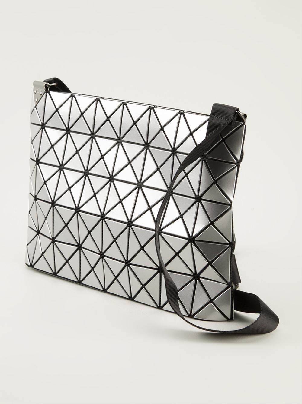 79184acf146b Lyst - Bao Bao Issey Miyake Prism Cross Body Bag in Metallic