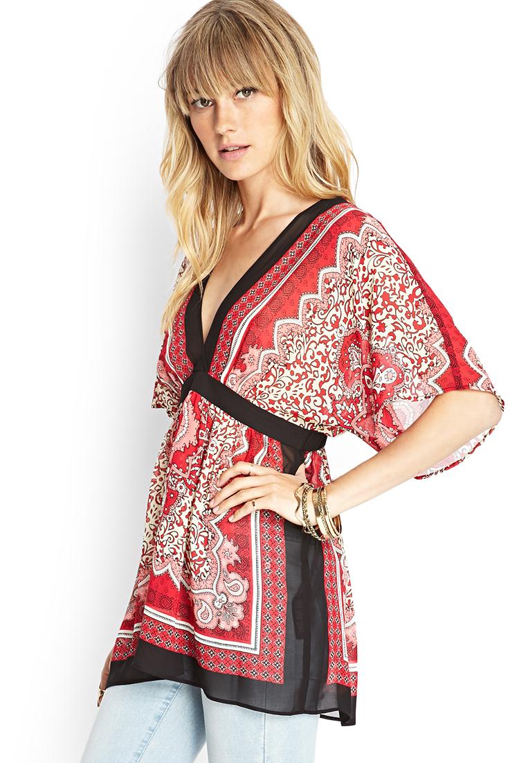 Kimono Style Tops