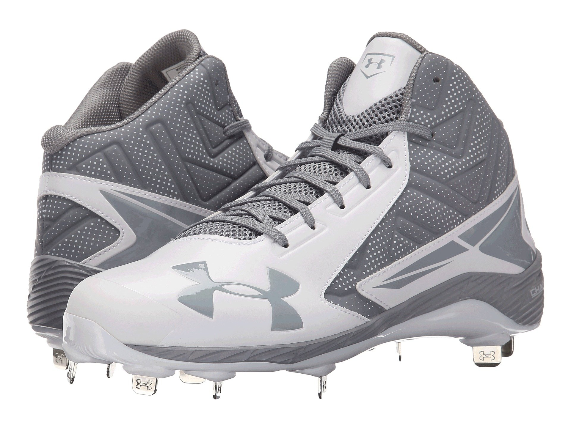 2af8e6093aab Under Armour Ua Yard Mid St in White for Men - Lyst